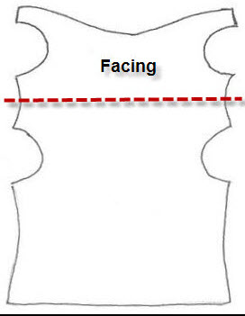 how to change a cowl neckline