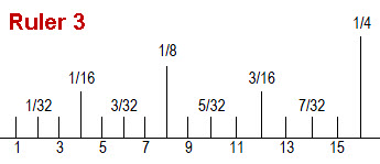 cad pattern grading ruler