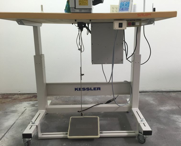 Kessler's KES 2000 motorized ergonomic sewing machine table stand.